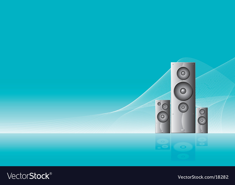 Speakers 3 final vector | Price: 1 Credit (USD $1)