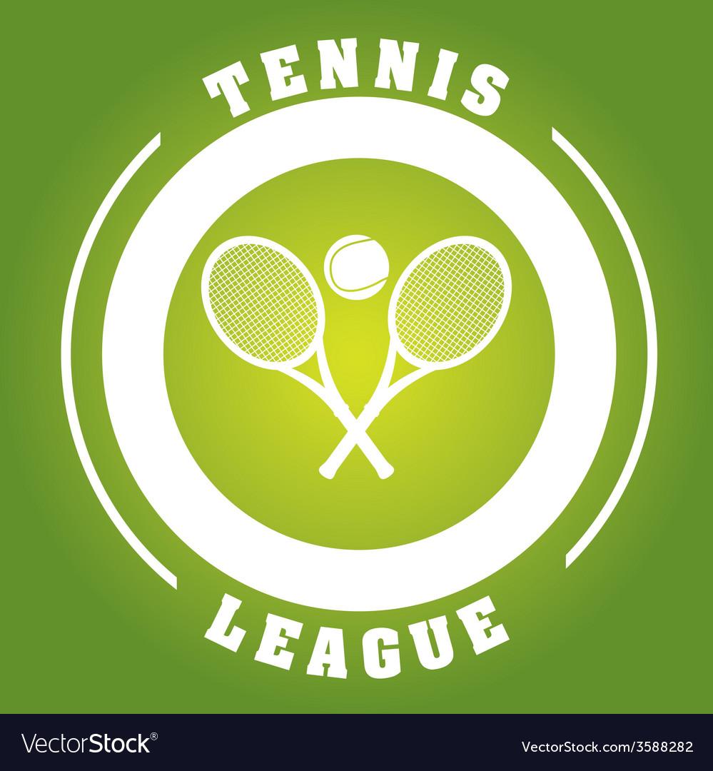 Tennis sport vector   Price: 1 Credit (USD $1)