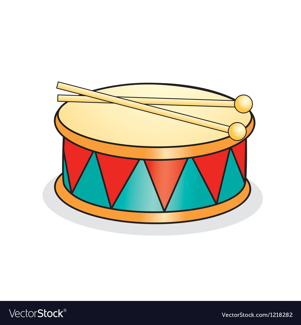 Toy drum vector | Price: 1 Credit (USD $1)