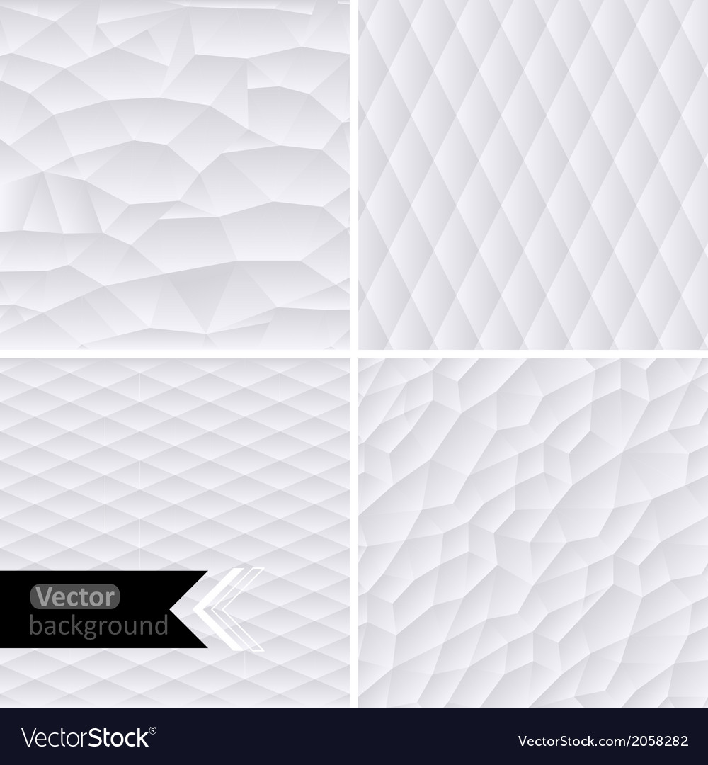 White geometric background white mo vector | Price: 1 Credit (USD $1)