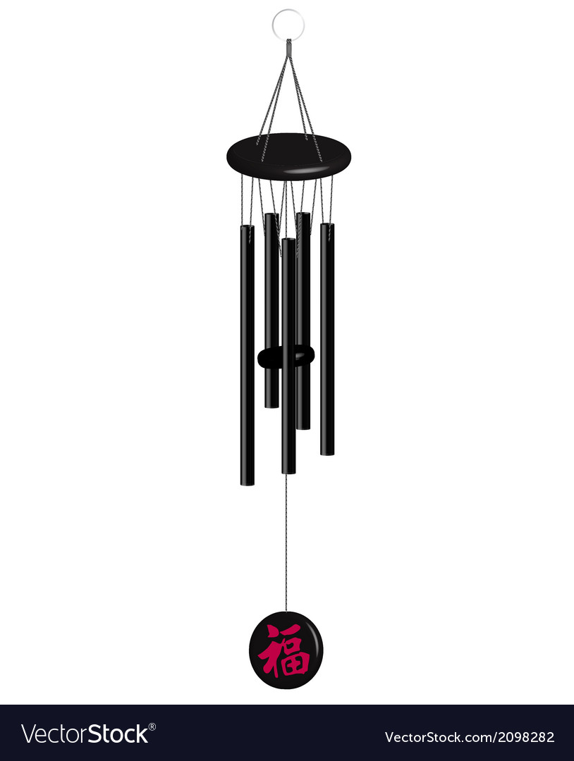 Wind bells vector | Price: 1 Credit (USD $1)