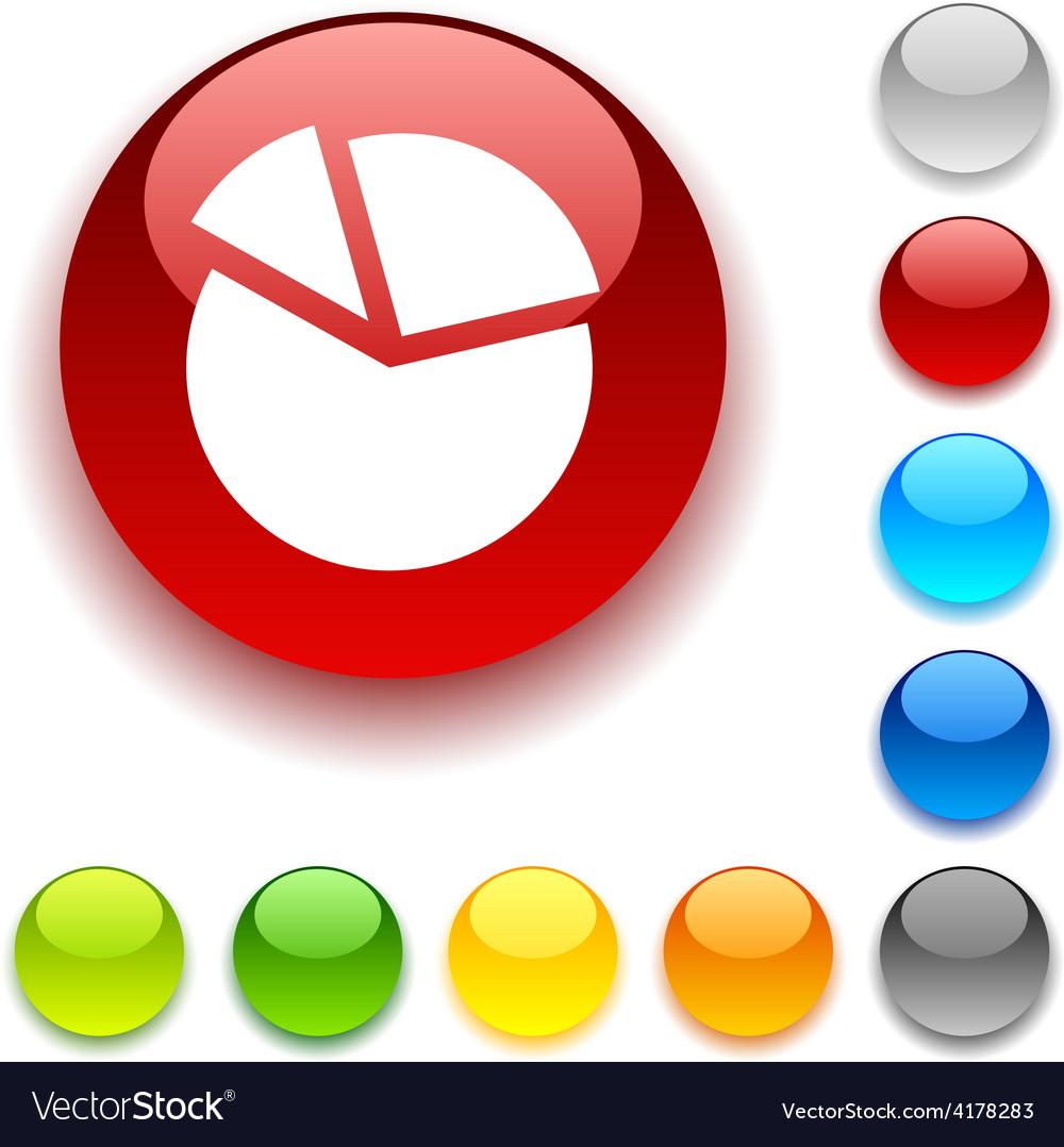 Diagram button vector | Price: 1 Credit (USD $1)