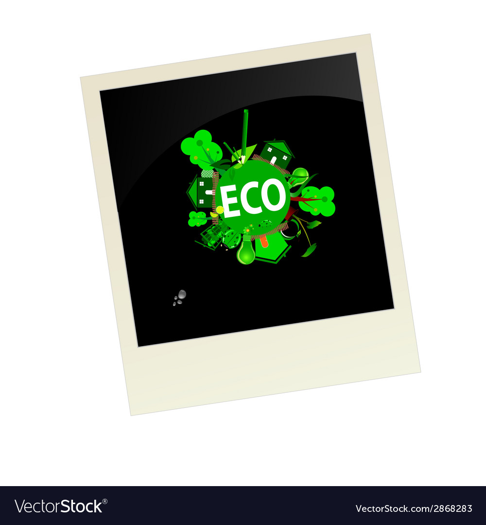 Eco picture vector | Price: 1 Credit (USD $1)