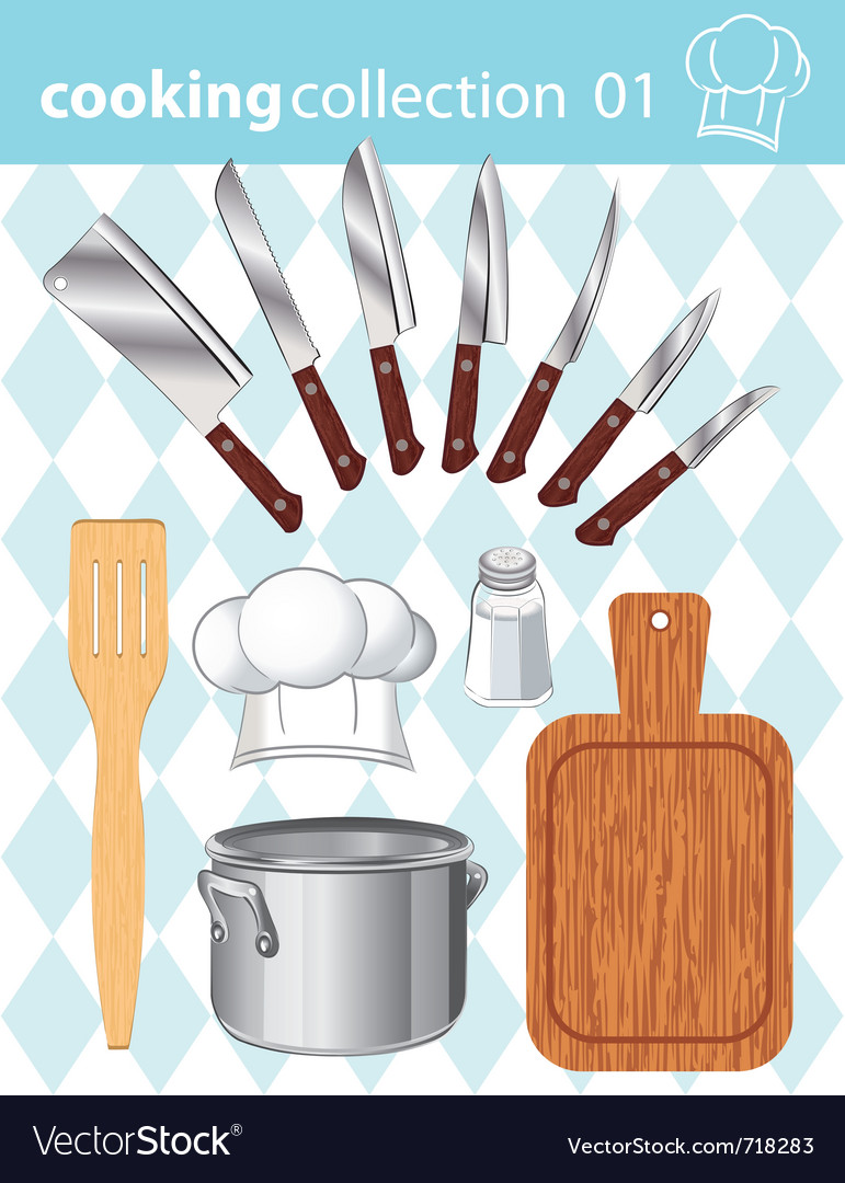 Kitchen and cooking collection vector | Price: 3 Credit (USD $3)