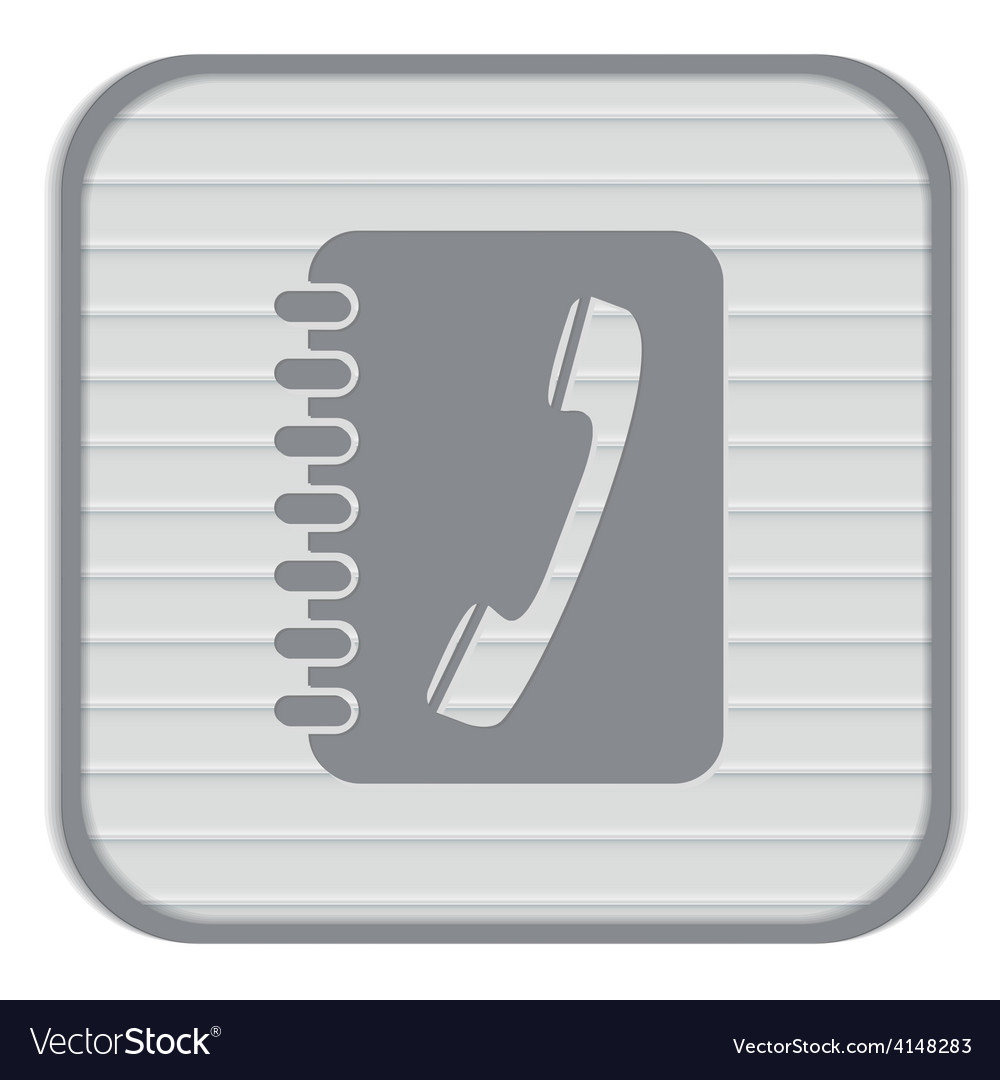 Phone address book vector | Price: 1 Credit (USD $1)