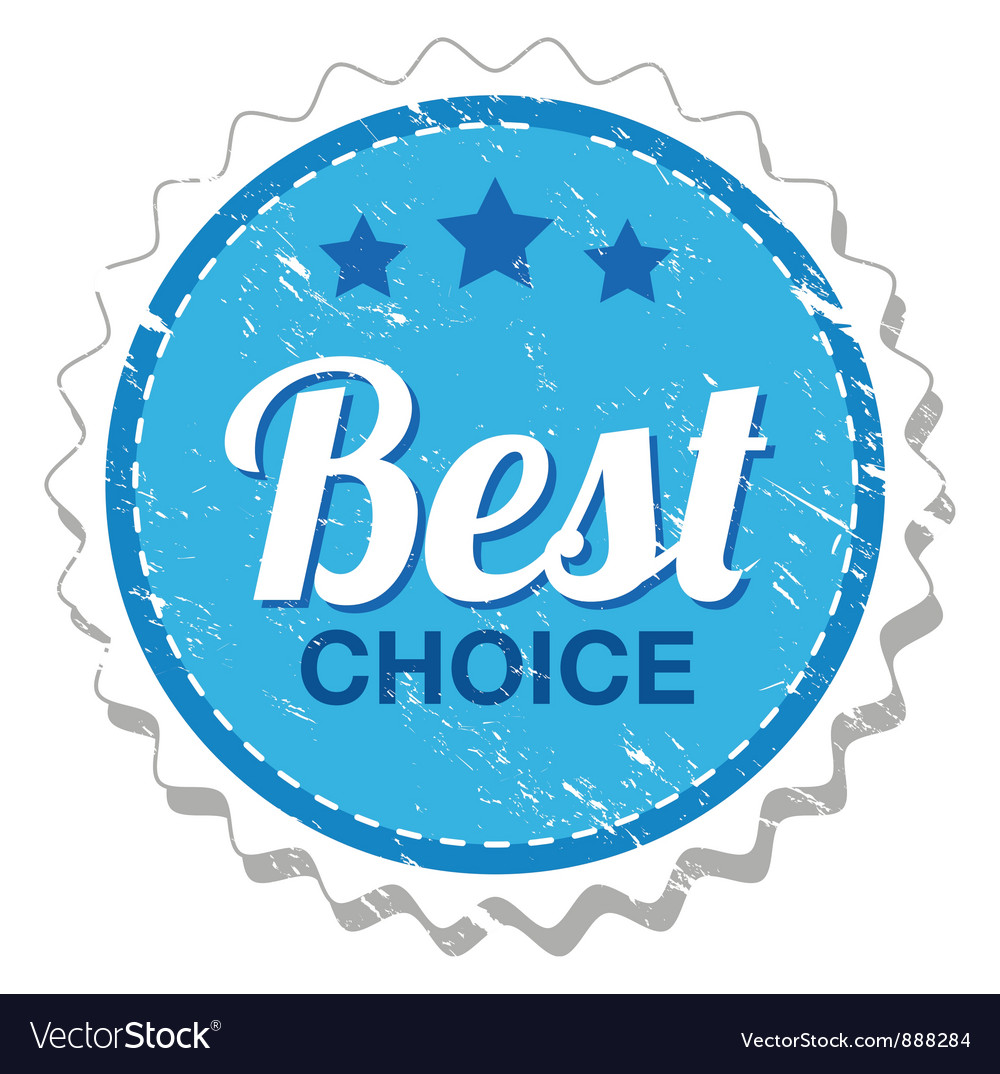 Best choice grunge stamp vector | Price: 1 Credit (USD $1)
