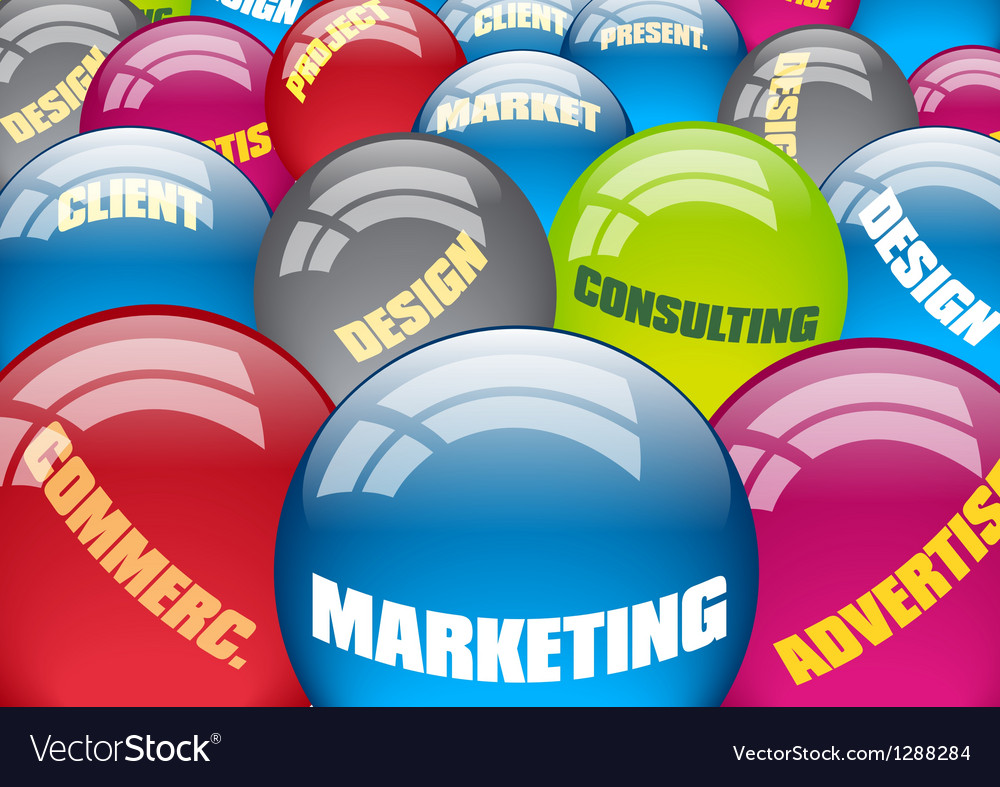 Marketing metaphor vector | Price: 1 Credit (USD $1)