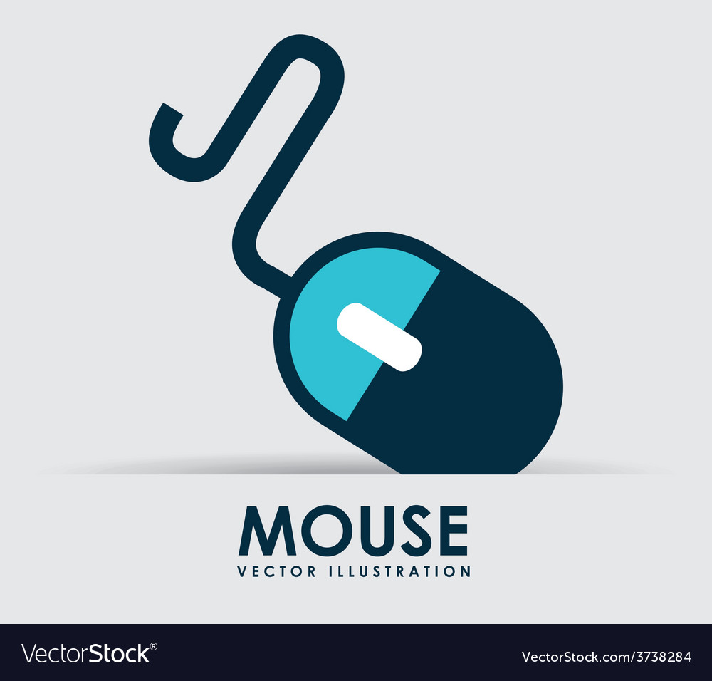 Mouse icon vector | Price: 1 Credit (USD $1)