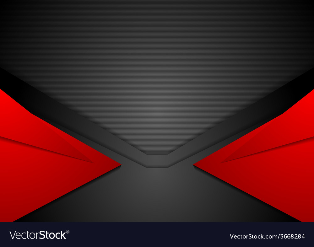 Red and black corporate art background vector | Price: 1 Credit (USD $1)