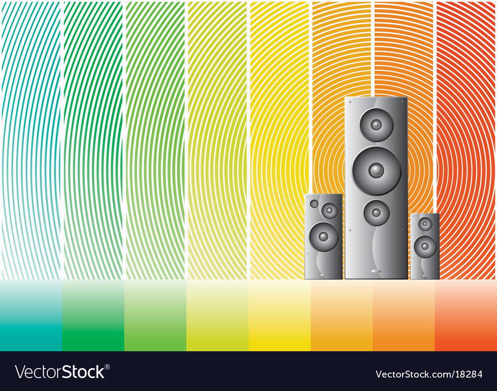 Speaker 4 design vector | Price: 1 Credit (USD $1)
