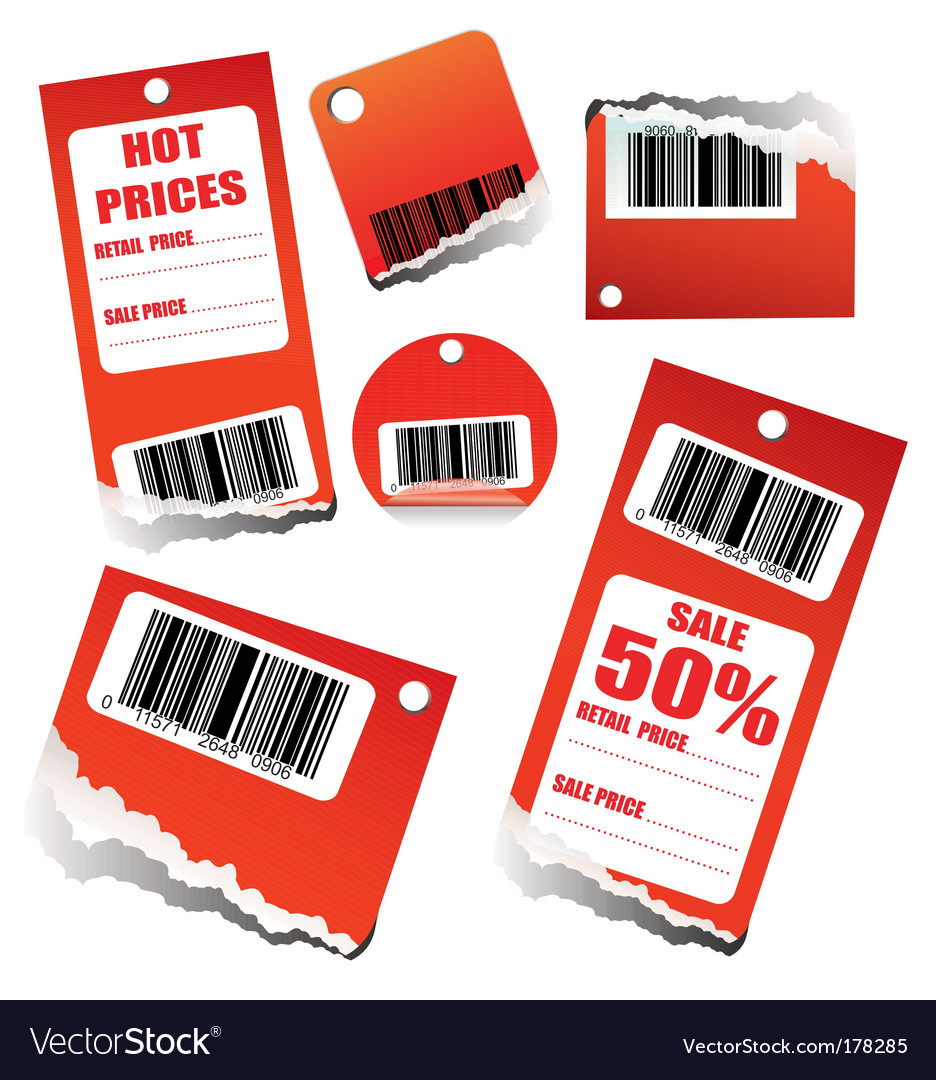 Discount sales tag vector | Price: 3 Credit (USD $3)