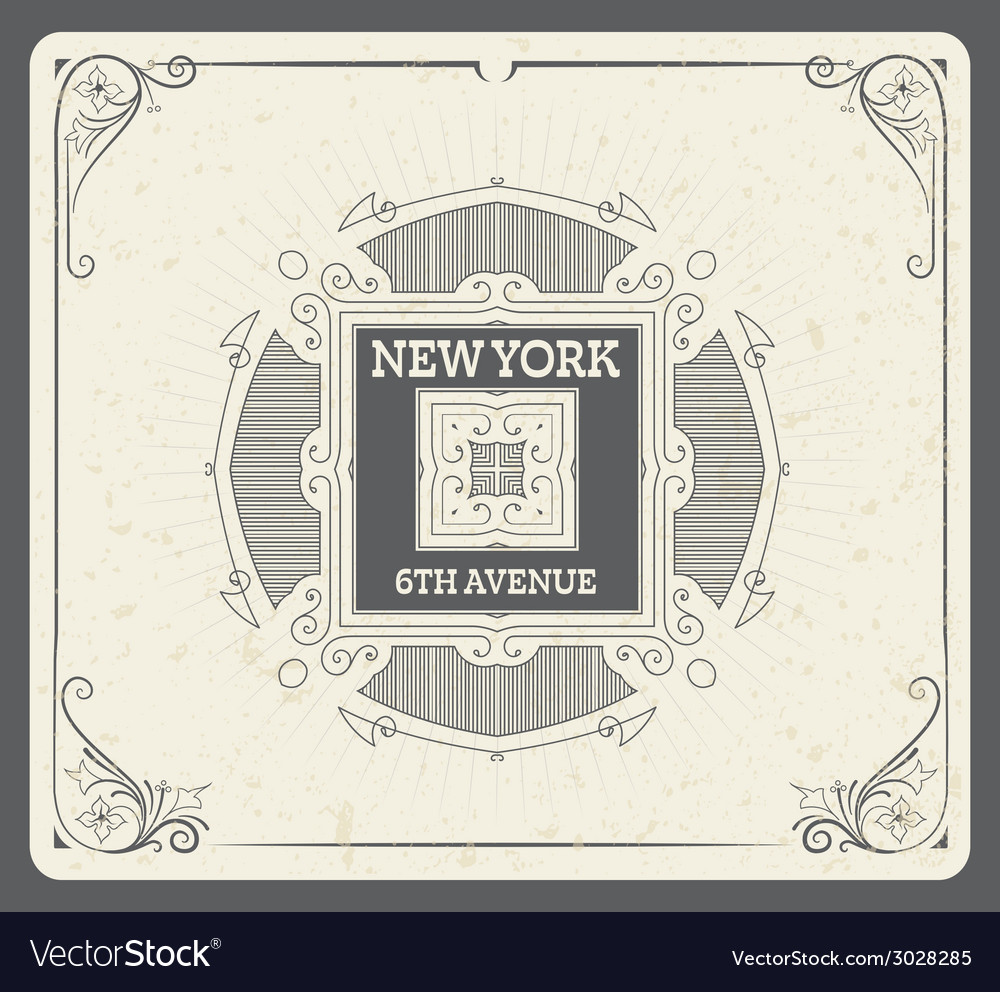 Retro design elements separated by layers vector   Price: 1 Credit (USD $1)