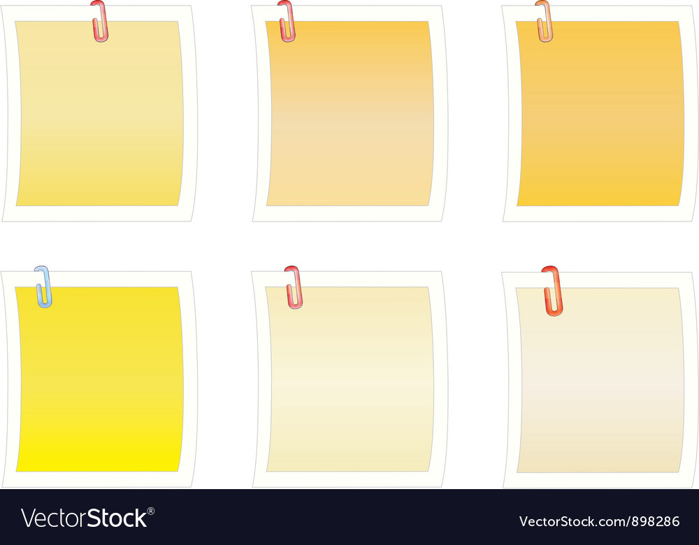 Blank paper notes vector   Price: 1 Credit (USD $1)