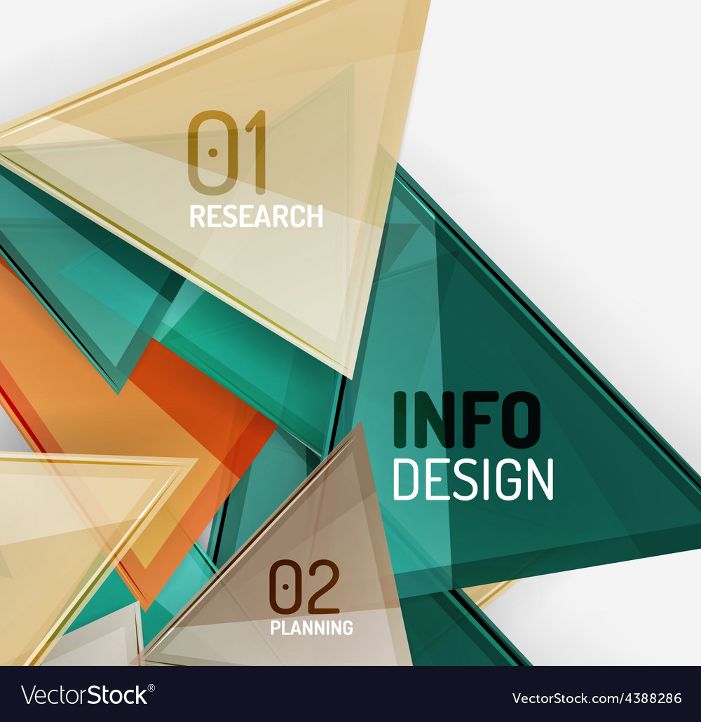 Business modern colorful geometric infographics vector | Price: 1 Credit (USD $1)