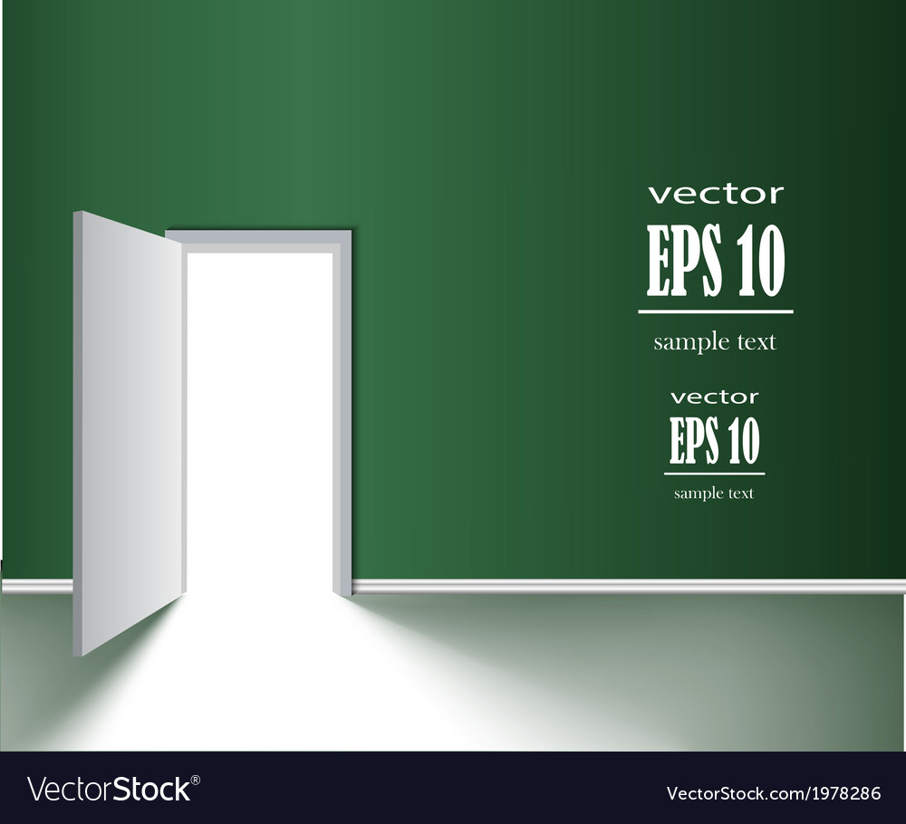 Door vector | Price: 1 Credit (USD $1)