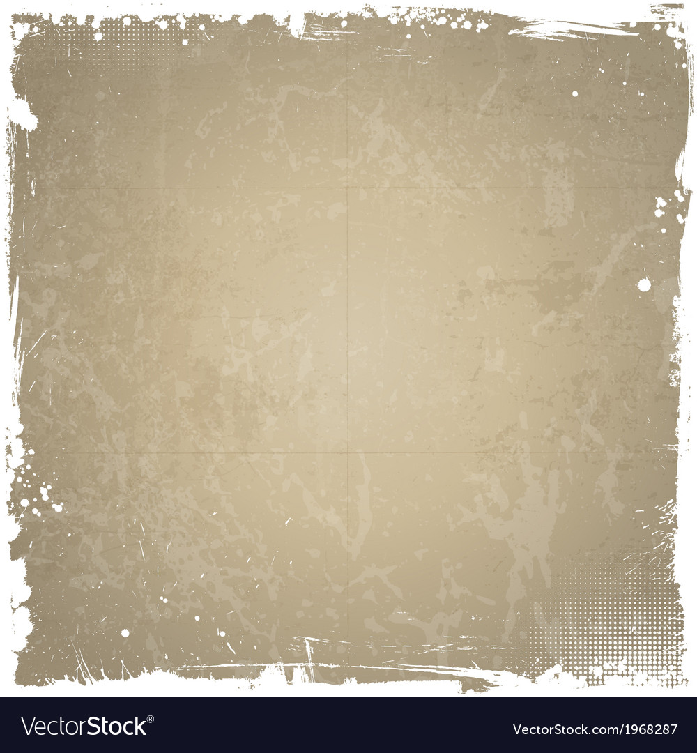 Grunge background with white border vector | Price: 1 Credit (USD $1)