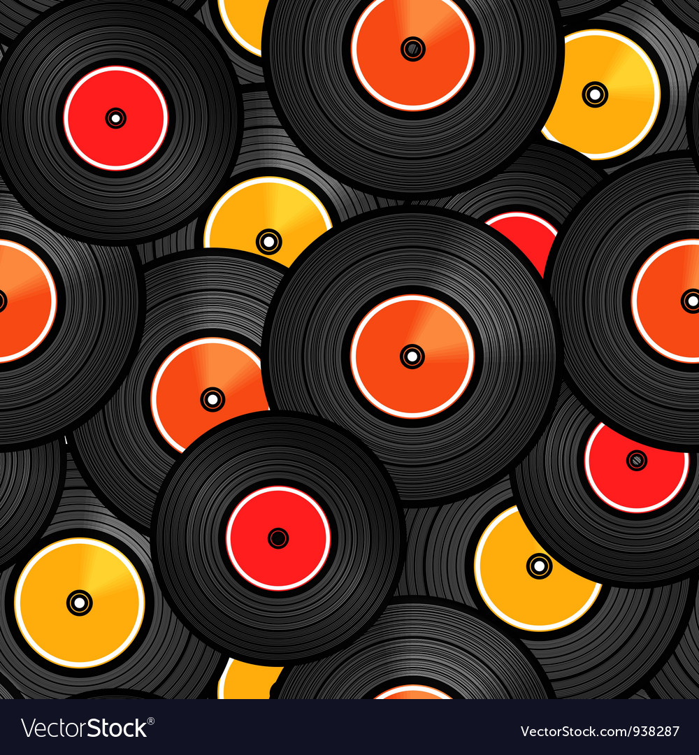 Records background vector | Price: 1 Credit (USD $1)