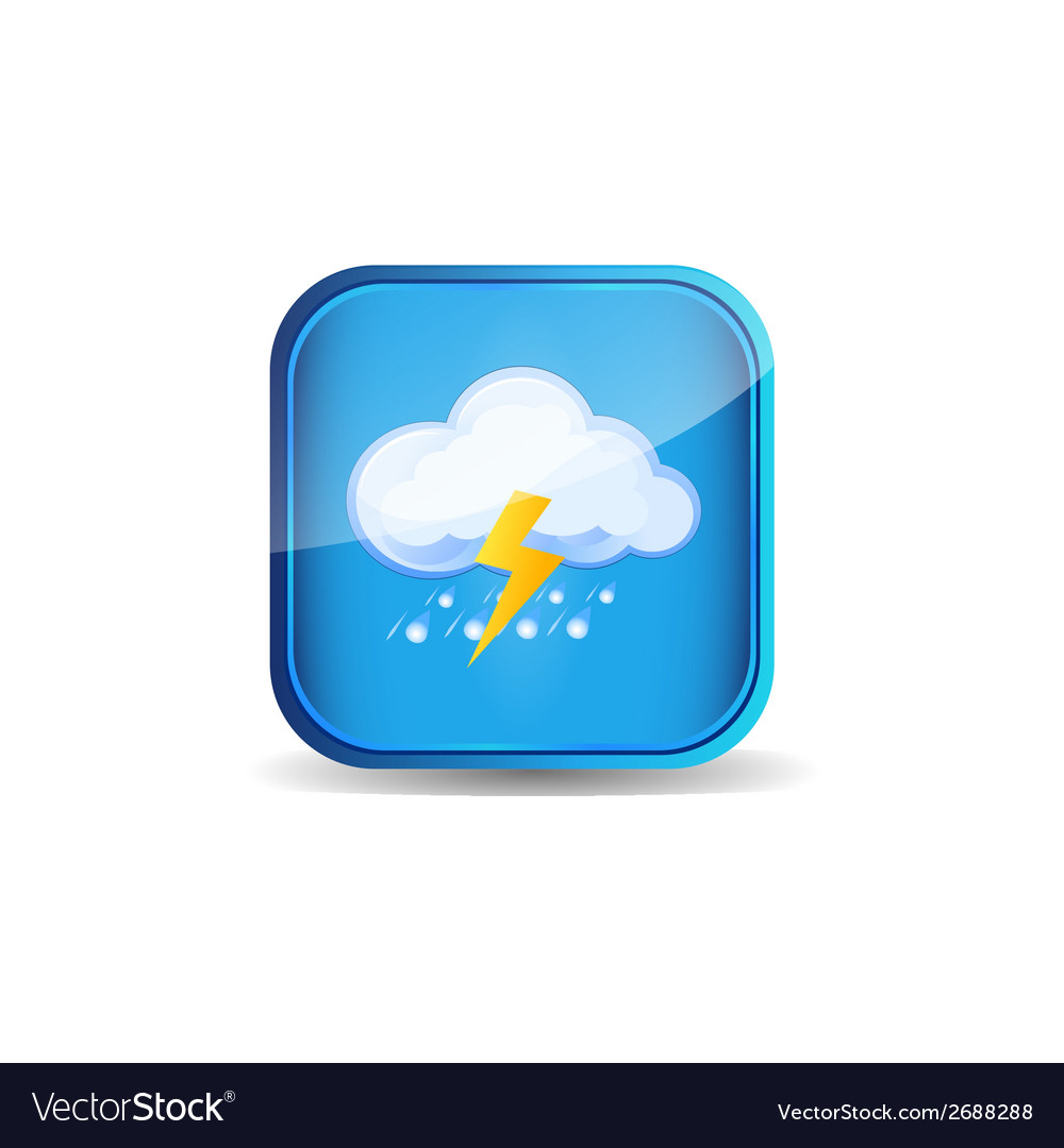 Icon weather vector | Price: 1 Credit (USD $1)