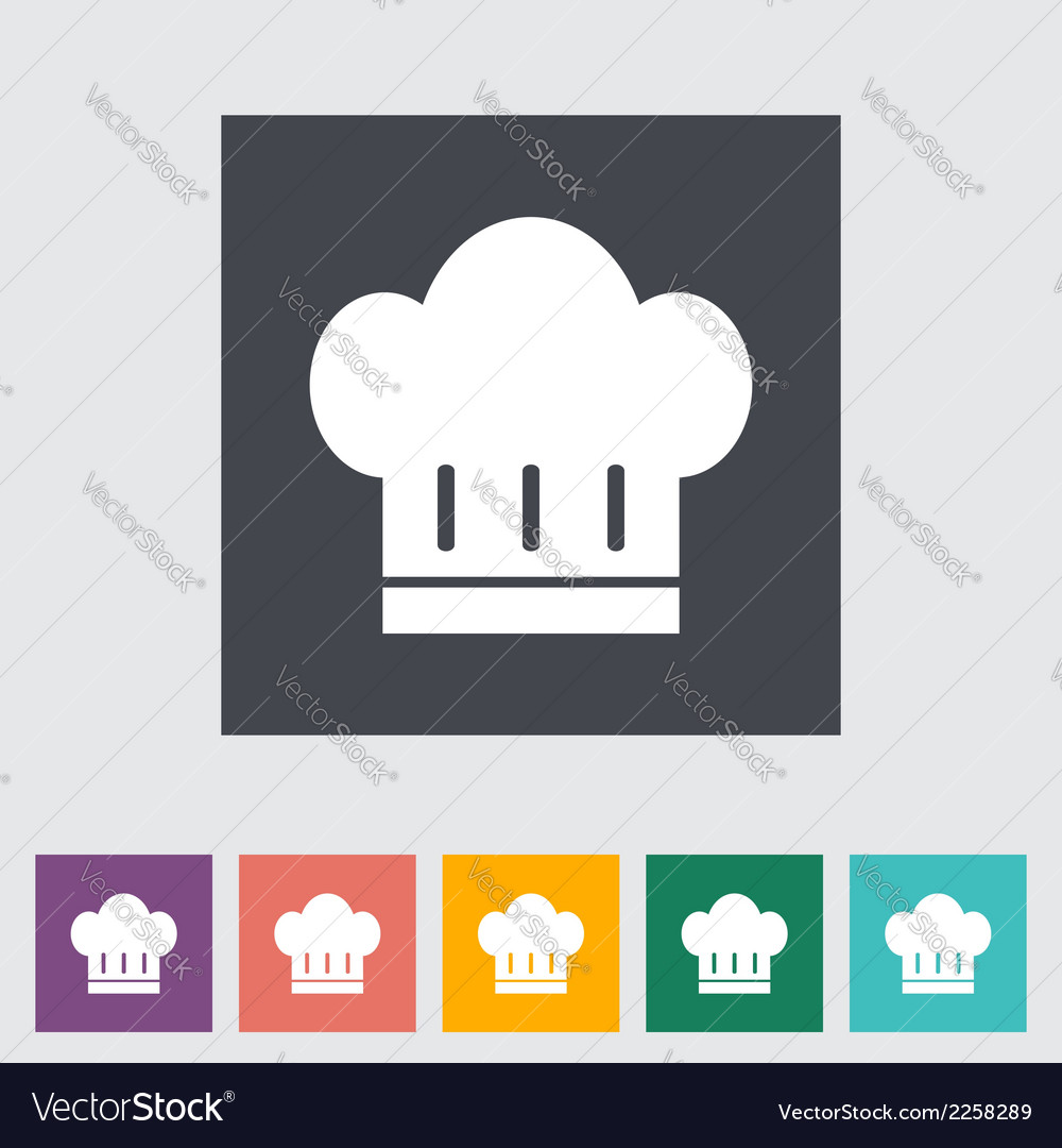 Chef hat vector | Price: 1 Credit (USD $1)