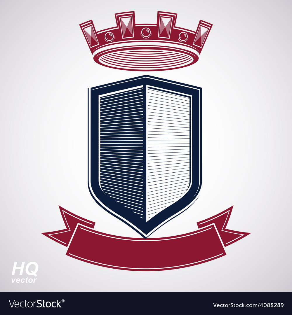 Empire design element heraldic royal coronet - imp vector | Price: 1 Credit (USD $1)