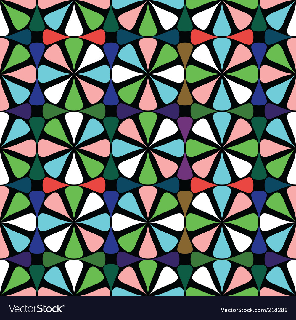 Geometric seamless vector | Price: 1 Credit (USD $1)