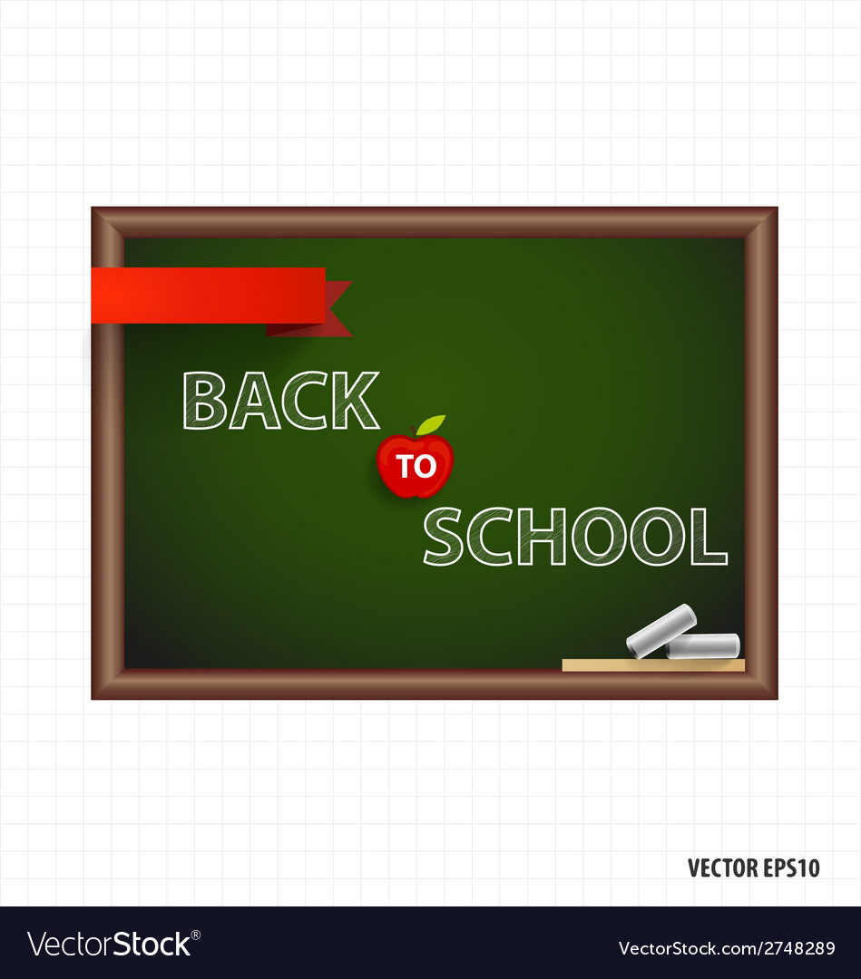 Welcome back to school vector | Price: 1 Credit (USD $1)