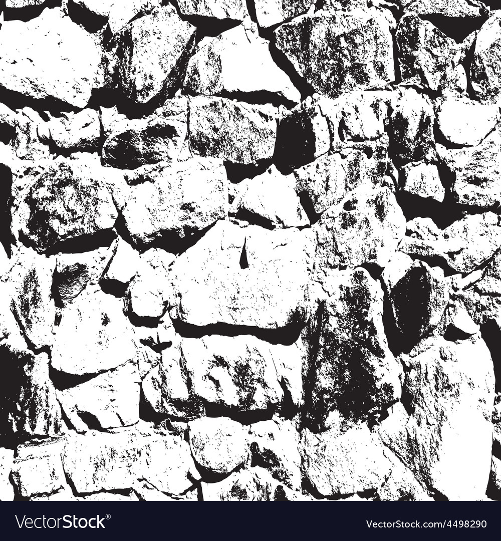 Ancient stone wall background vector | Price: 1 Credit (USD $1)