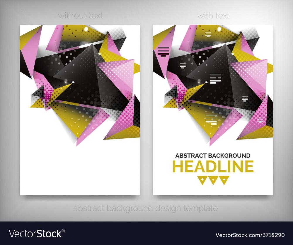 Flyer brochure design templates layouts vector   Price: 1 Credit (USD $1)
