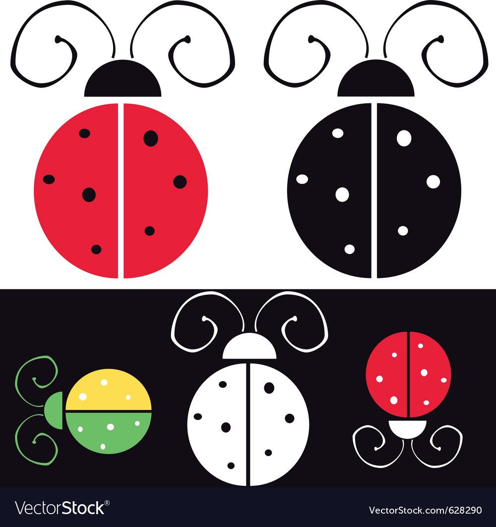 Ladybug vector | Price: 1 Credit (USD $1)
