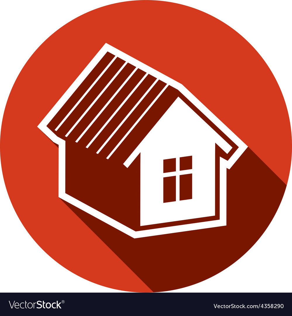 Simple house detailed property developer c vector | Price: 1 Credit (USD $1)