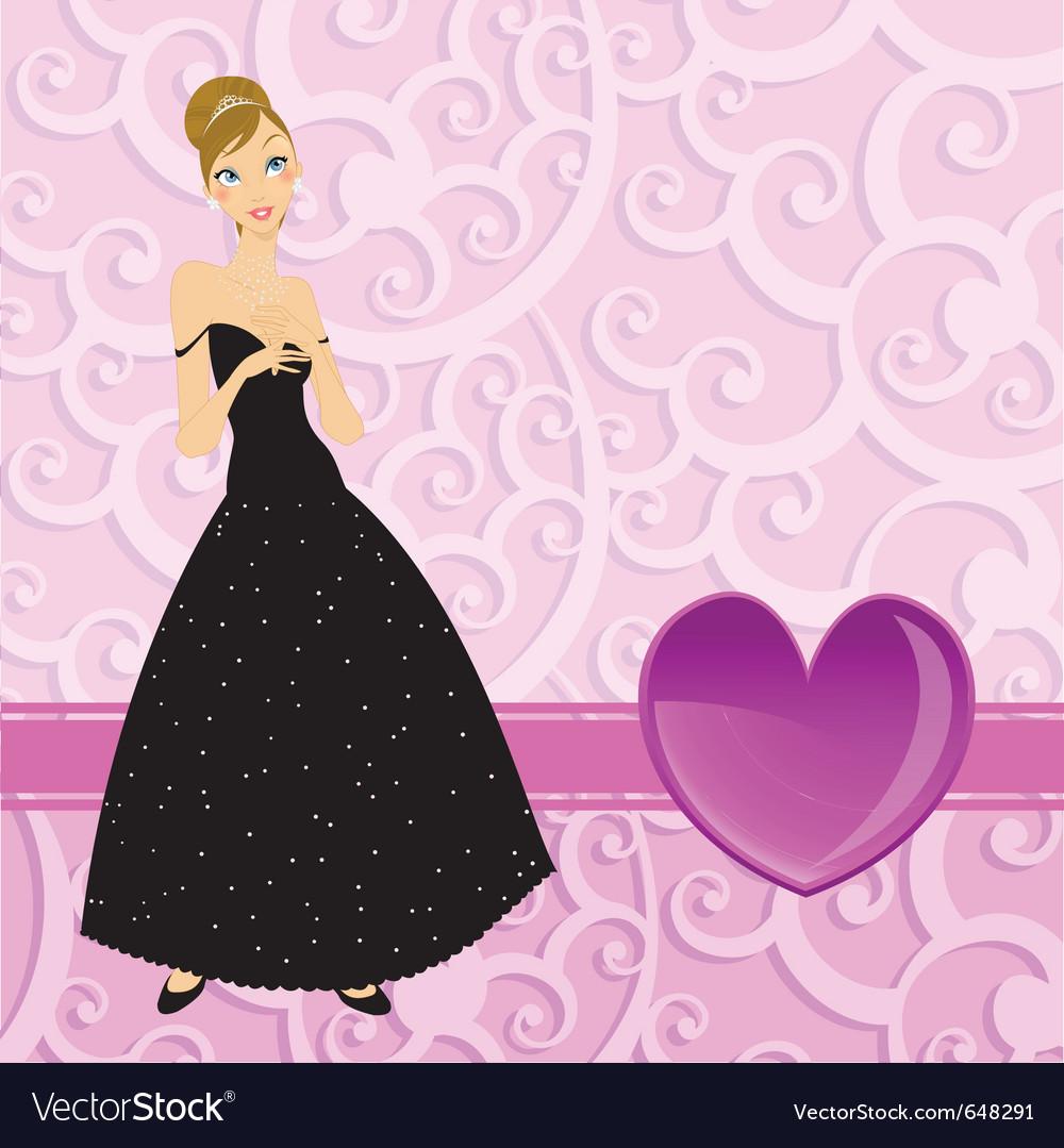 Beautiful women vector | Price: 1 Credit (USD $1)
