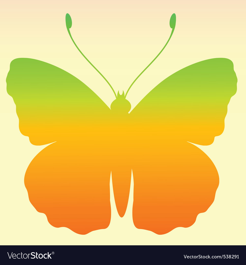 Butterfly gradient vector | Price: 1 Credit (USD $1)