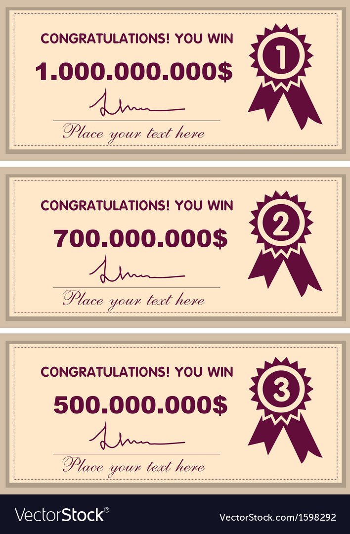 Award certificates vector | Price: 1 Credit (USD $1)
