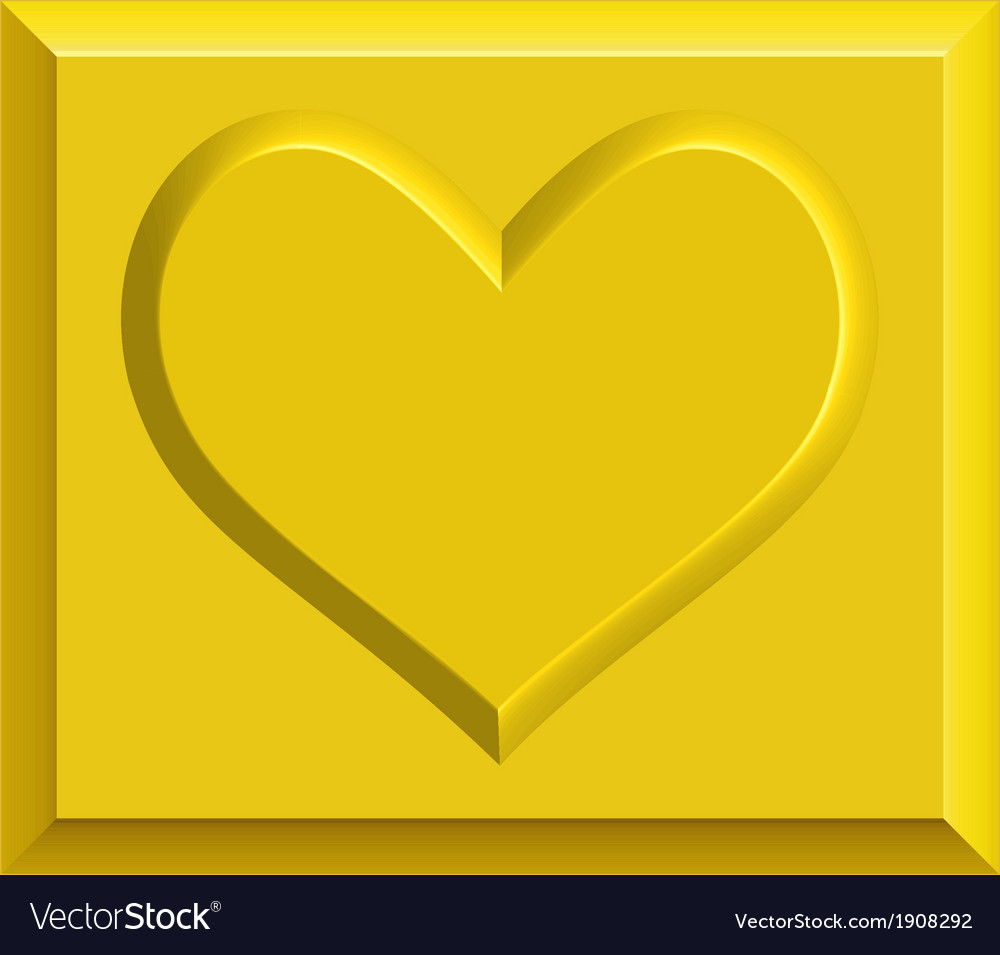 Gold heart bullion vector | Price: 1 Credit (USD $1)
