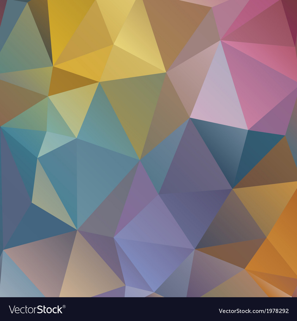 Polygonal pattern abstraction vector | Price: 1 Credit (USD $1)