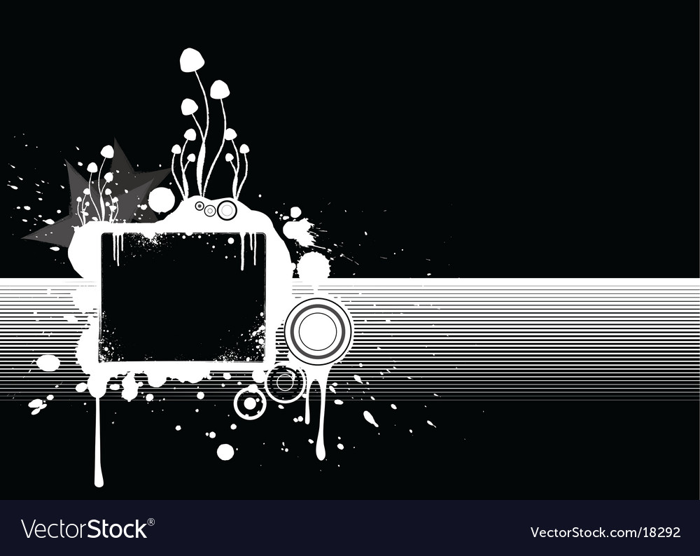 Splatter element vector | Price: 1 Credit (USD $1)