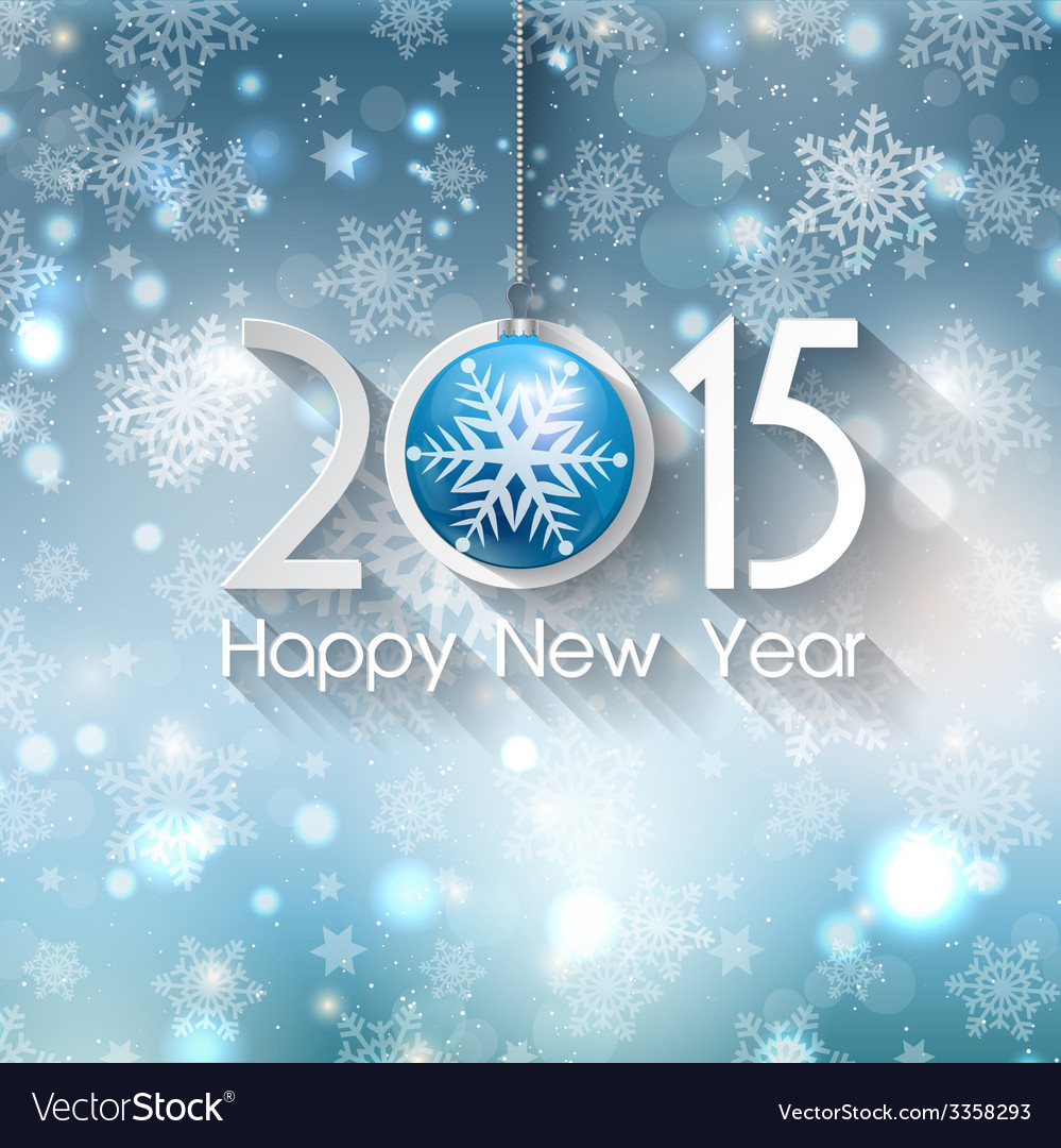 Happy new year background 0611 vector | Price: 1 Credit (USD $1)