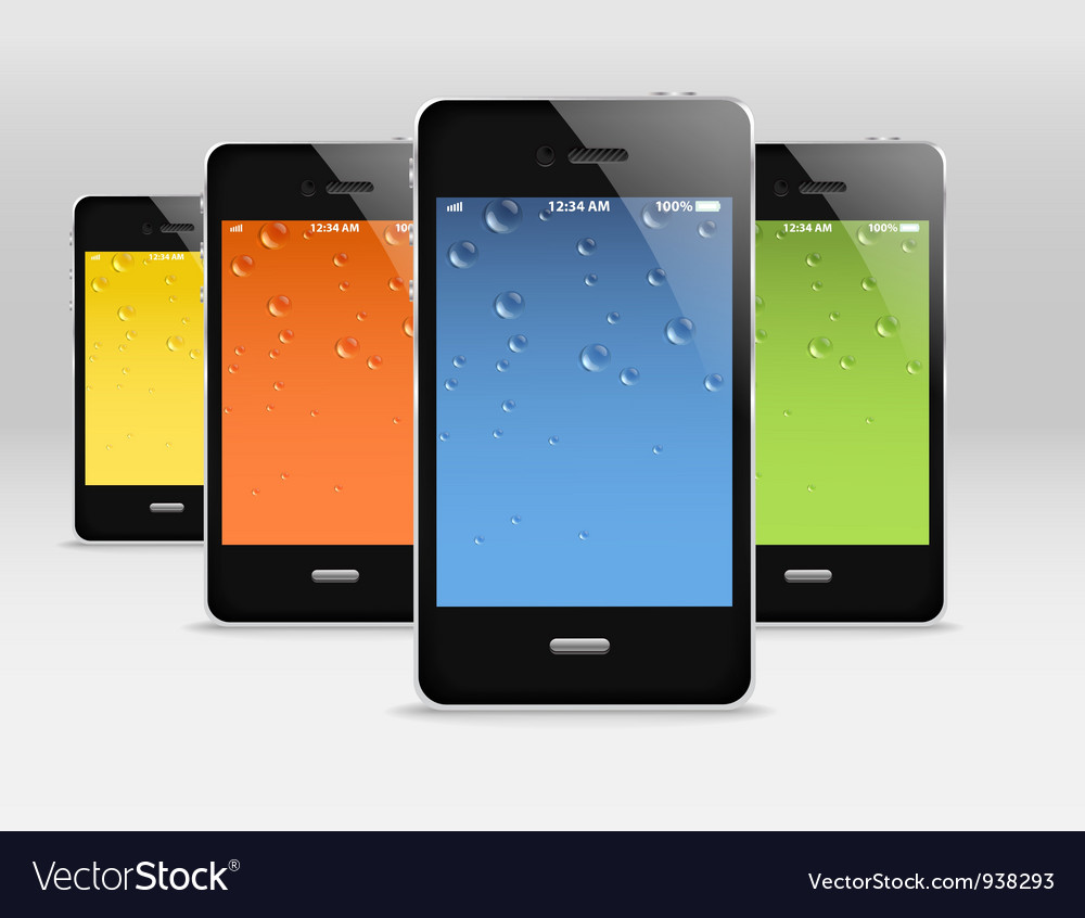 Modern gadgets vector | Price: 1 Credit (USD $1)