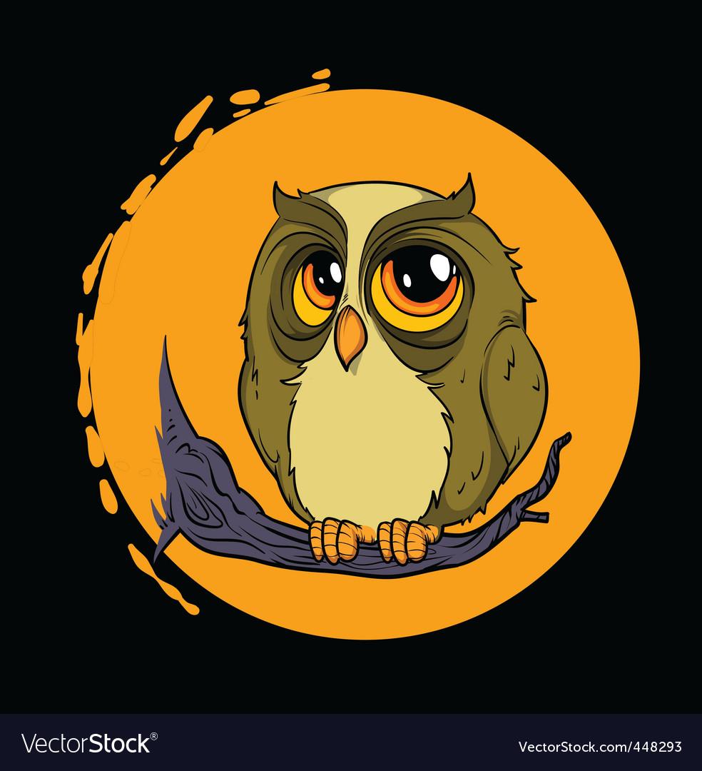 Owl mascot vector | Price: 1 Credit (USD $1)