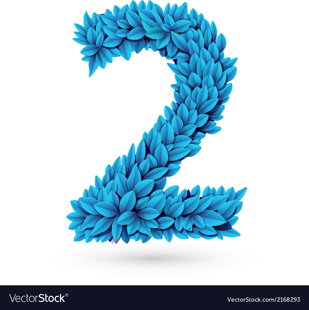 Two 2 number vector | Price: 1 Credit (USD $1)