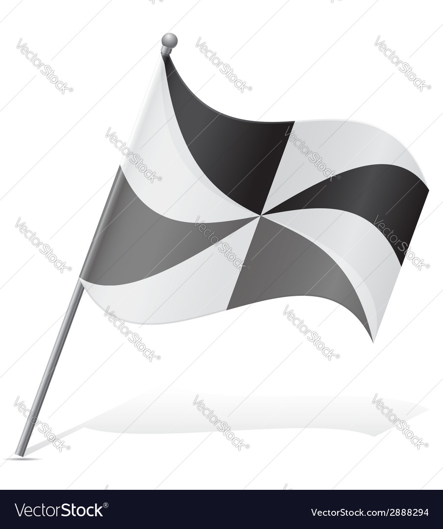 Flag of ceuta vector | Price: 1 Credit (USD $1)