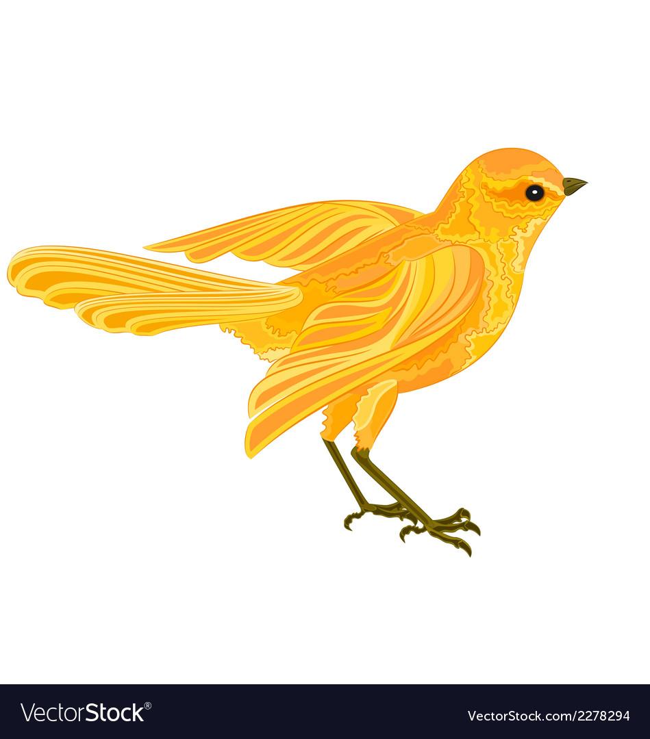 Gold-bird vector | Price: 1 Credit (USD $1)