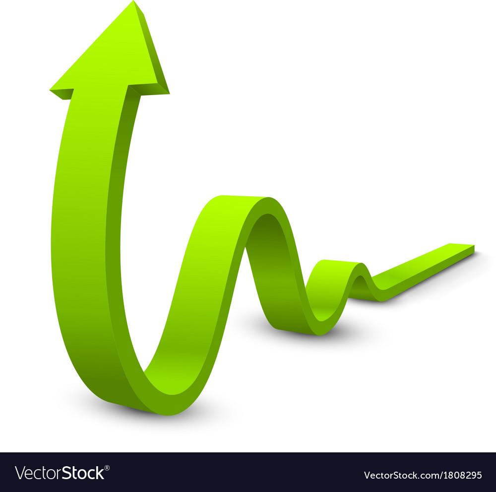 Arrow 3d vector | Price: 1 Credit (USD $1)