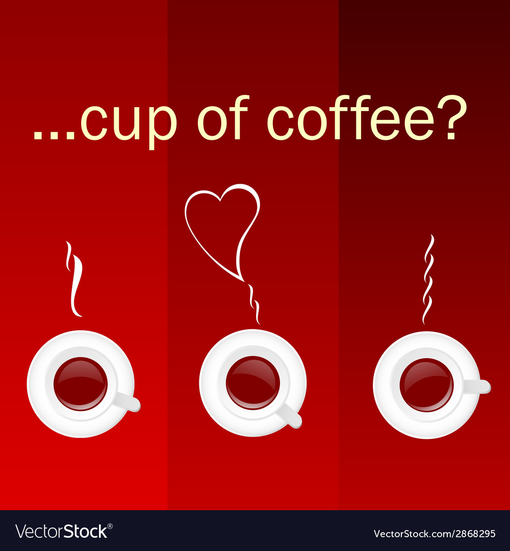 Cup of coffee color vector | Price: 1 Credit (USD $1)