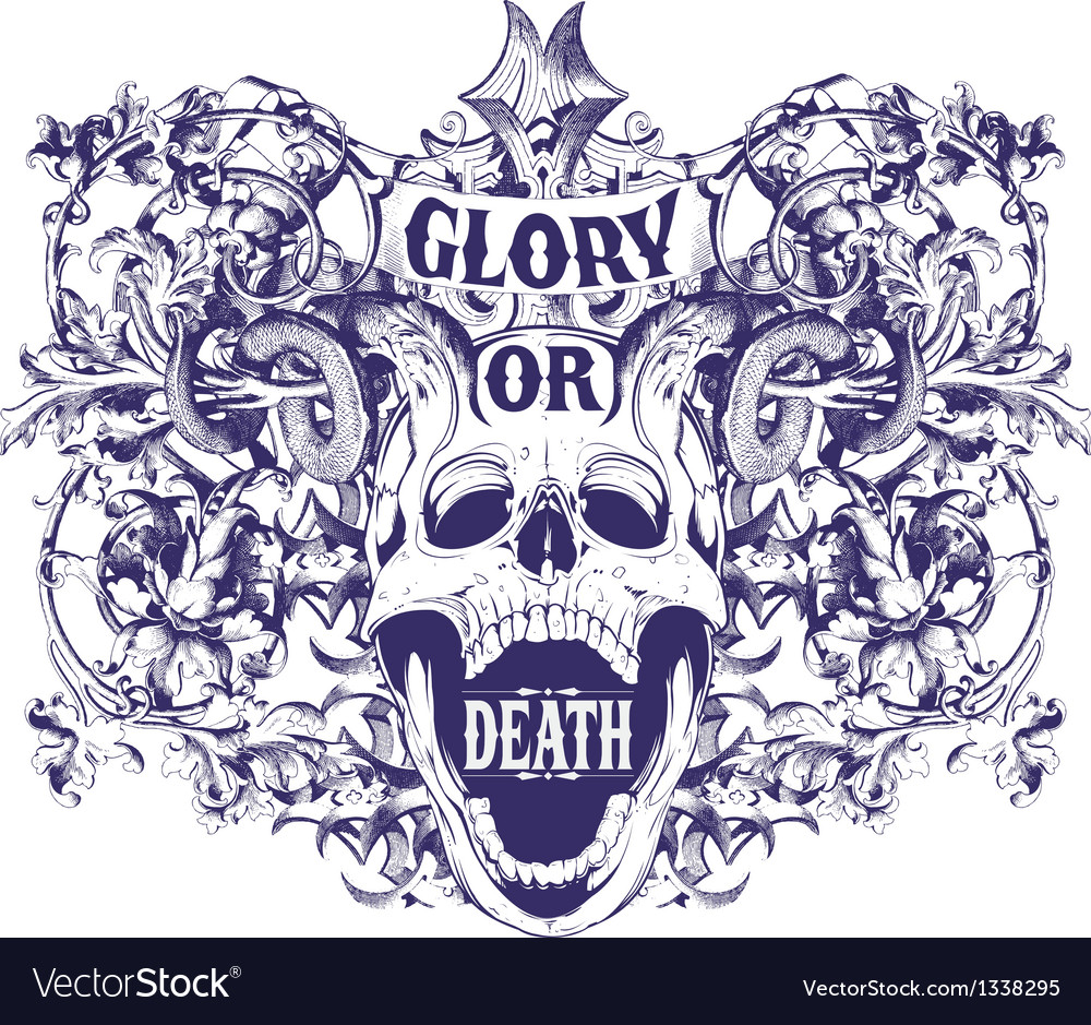 Glory or death vector | Price: 3 Credit (USD $3)