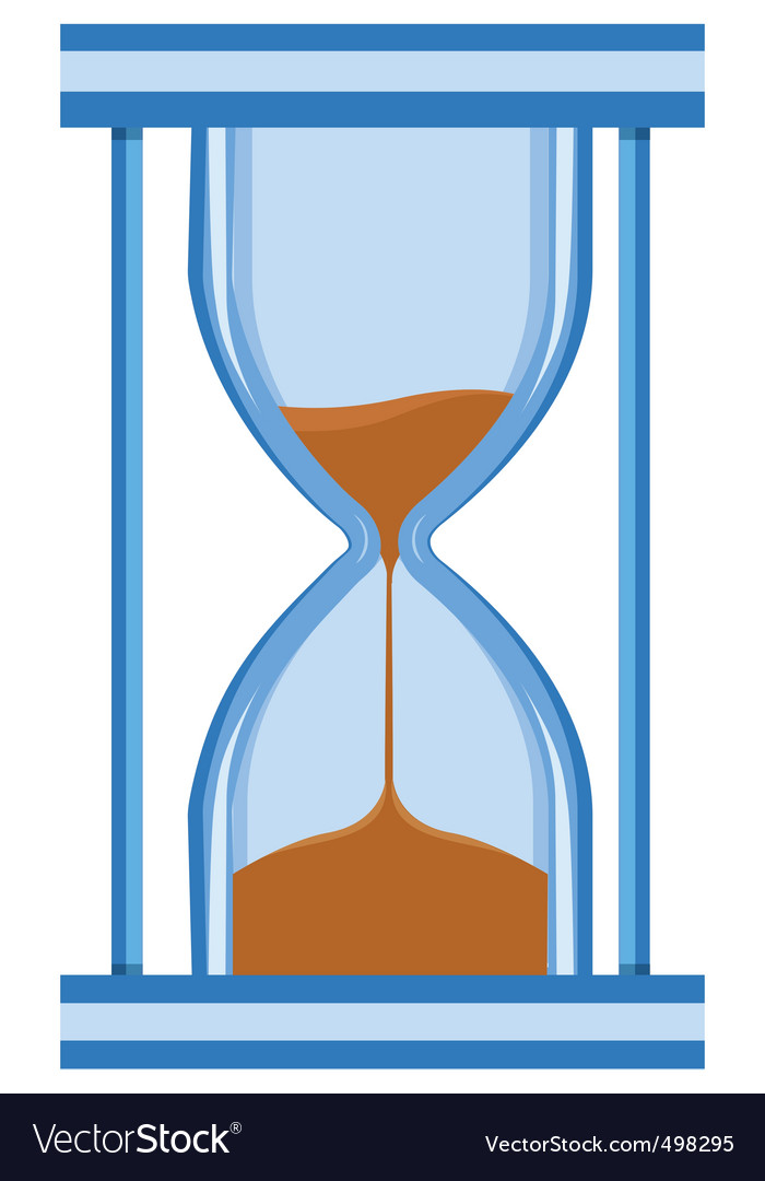 Hour glass timer vector | Price: 1 Credit (USD $1)