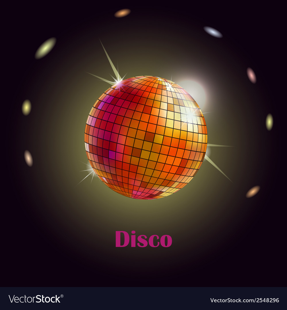 Disco ball vector | Price: 1 Credit (USD $1)