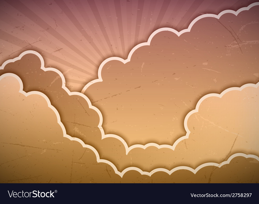 Clouds vector | Price: 1 Credit (USD $1)