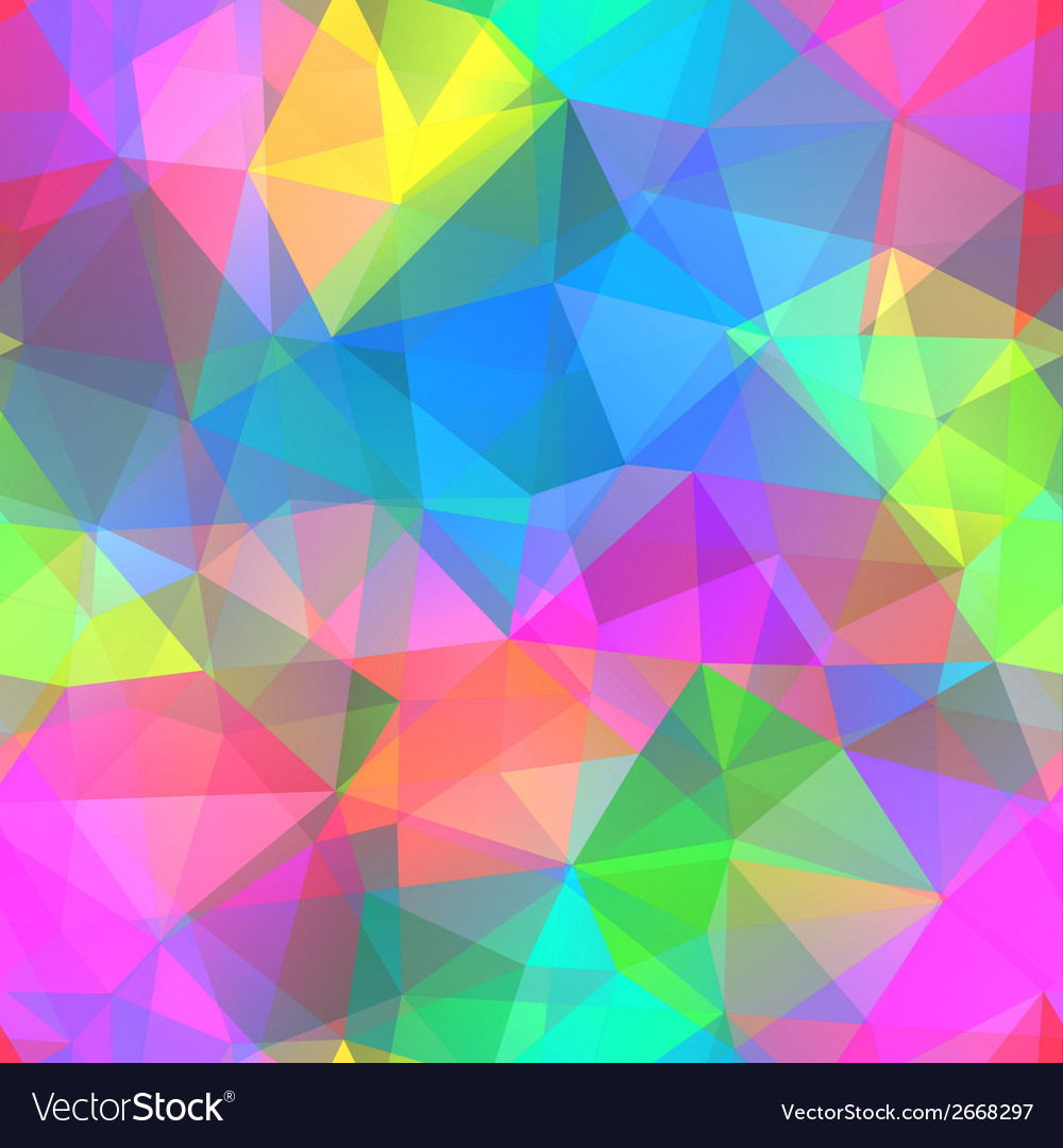 Colorful mosaic banner vector | Price: 1 Credit (USD $1)
