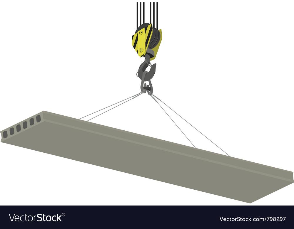 Crane hook vector | Price: 1 Credit (USD $1)